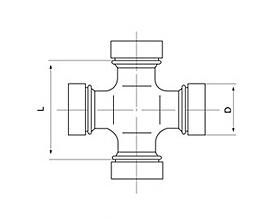 U-joint Bearing